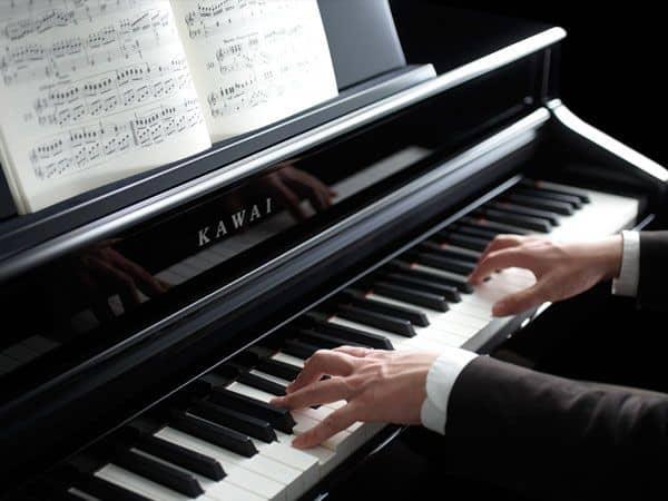 Kawai Digital Piano Playing