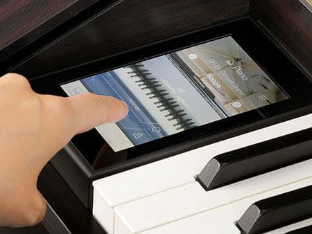 Kawai Digital Piano Touchscreen