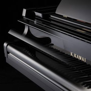 Kawai Grand Piano Soft Fall Closing Lid