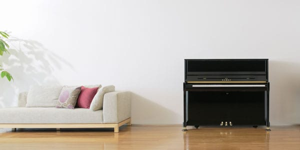 Kawai K Series Upright Piano Location