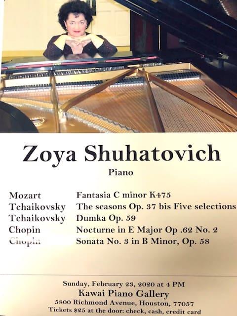Zoya Shuhatovich